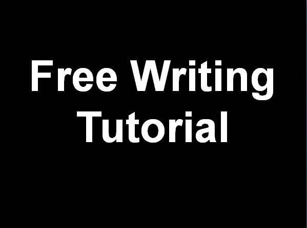 Free Writing Tutorial